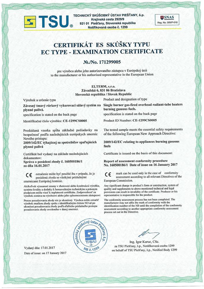 Certifikáty / Certificates